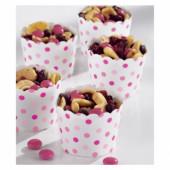 36 papir snack bægre - pink