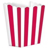 Popcornbägare - röd