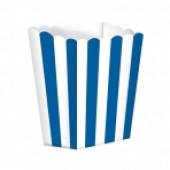 Popcornbägare - blå