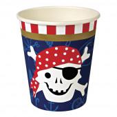 Meri Meri pirat papkrus og pynt til fødselsdag med pirat tema