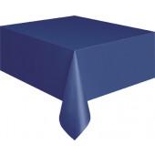 Mörkblå plastduk