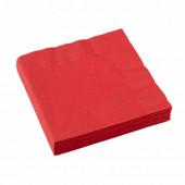 Röda servietter