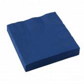 Blå servietter