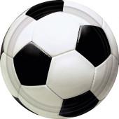 Fotbollspapperstallrikar