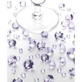 Bordkristaller - lila
