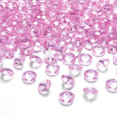 Pynte diamanter - lys pink