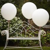 Kæmpe balloner i hvid / Gigant ballon i hvid
