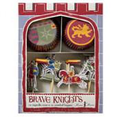 Tapre riddere cupcake sæt
