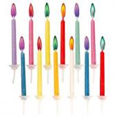 Födelsedagsljus i färger