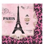 A day in Paris servietter