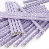 Storprickiga papperssugrör - lavendel