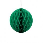 Emerald grøn papirkugle 40 cm