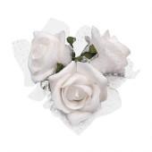 Hvide roser med sugekop