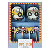 Meri Meri Big Rig cupcake set