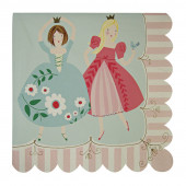 Meri Meri prinsesse servietter til børnefødselsdag