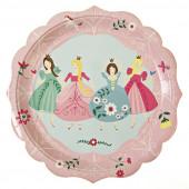 Meri Meri prinsesse paptallerkener til børnefødselsdag