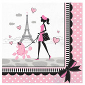 Party i Paris servietter