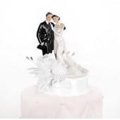 Bröllopsfigur nygifta