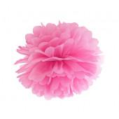 Pompom rosa 25 cm