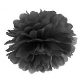 Pompom svart 35 cm