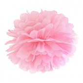 Pompom ljusrosa 35 cm