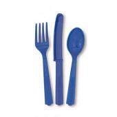 Plastbestick - Mörkblått
