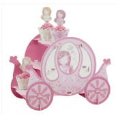 Prinsessvagn borddekoration