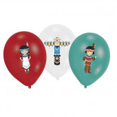 Tepee & Tomahawk balloner