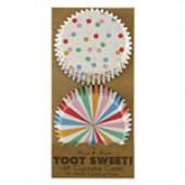 Meri Meri - Toot sweet cupcakeformar