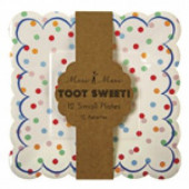 Meri Meri - Toot Sweet papperstallrikar