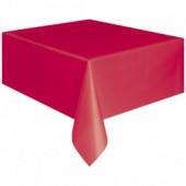 Röd pappersduk