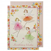 Meri Meri födelsedagskort - feer
