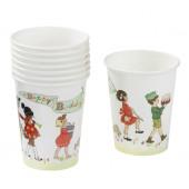 Belle & Boo papkrus og engangsservice til børnefødselsdagen
