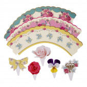 Truly Scrumptious cupcake wraps til afternoon tea.