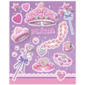 Prinsesse klistermærker