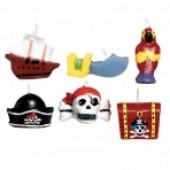 Tårtljus - pirat