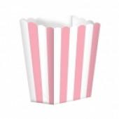 Popcornbägare - rosa