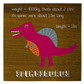Dinosaur servietter