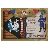 Pirat invitationer til børnefødselsdag / Pirat indbydelser til børnefødselsdag / Indbydelser til piratfest på engelsk
