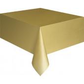 Plastduk i guld