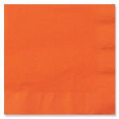 Orange servietter til Halloween