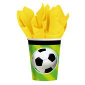 Fotboll pappersmugg