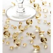 Bordkristaller - guld