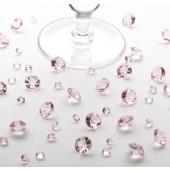 Bordkristaller - babyrosa