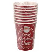 Jule papkrus - christmas cheer - engangsservice til julefrokost