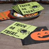 Halloweenservietter