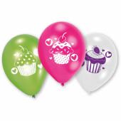 Balloner med cupcake motiver