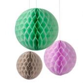 Pompom - 3 färger