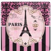 A day in Paris paptallerkner