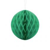 Grön papperskula - 20 cm